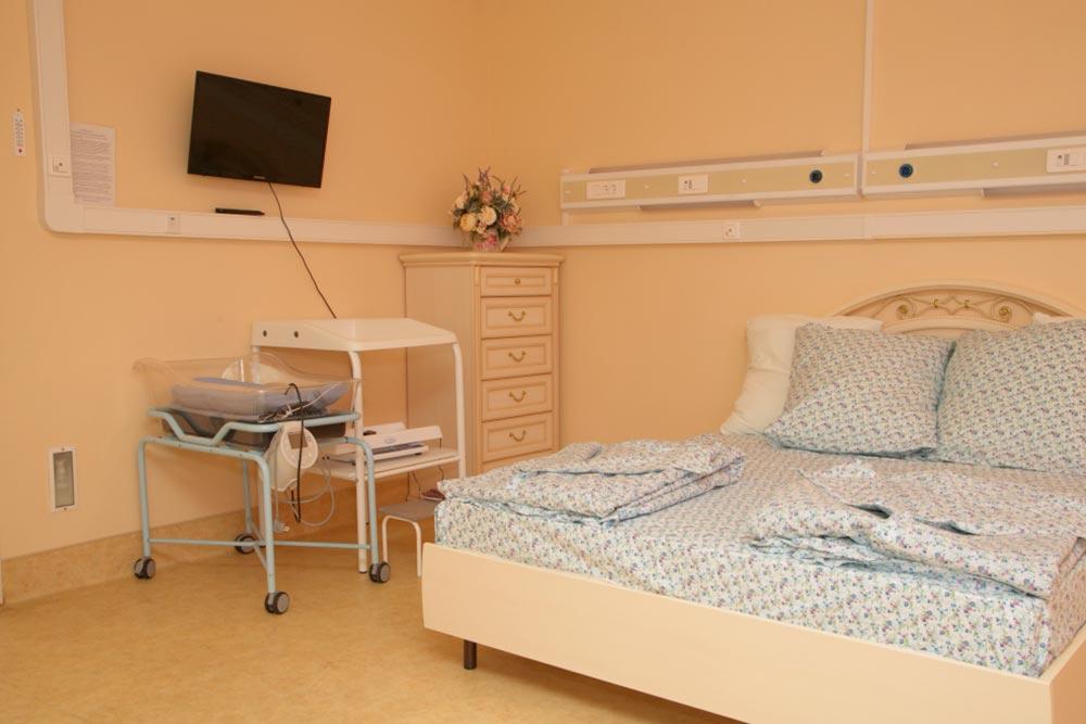 Семейная палата для рожениц в государственном роддоме № 24. Фото: Городская клиническая больница № 40 Департамента здравоохранения города Москвы