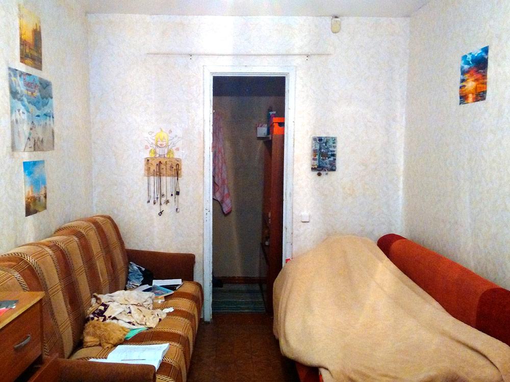 За эту комнату Белла платит 15 000 р. в месяц