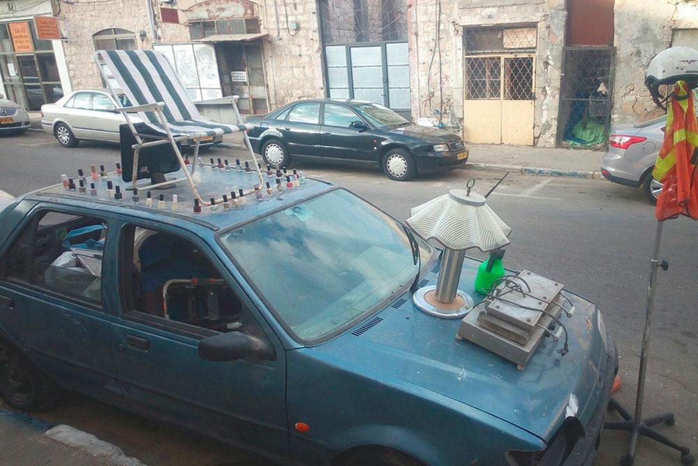 Блошиный рынок на колесах