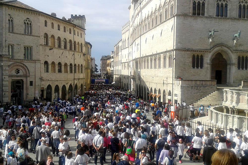 Любители бега в Перудже каждый год встречаются на «Грифониссиме». Это массовый забег на 10 км, который стартует из центра города