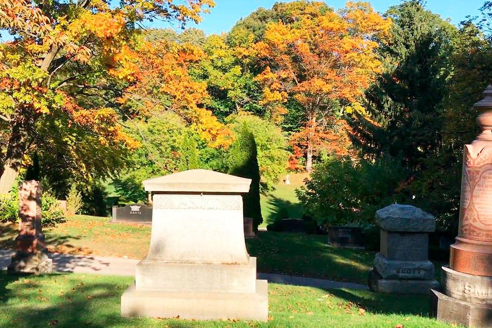 Кладбище Mount Pleasant в Торонто, по которому водят экскурсии