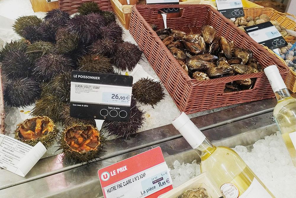 В Марселе я впервые попробовала морских ежей и улиток