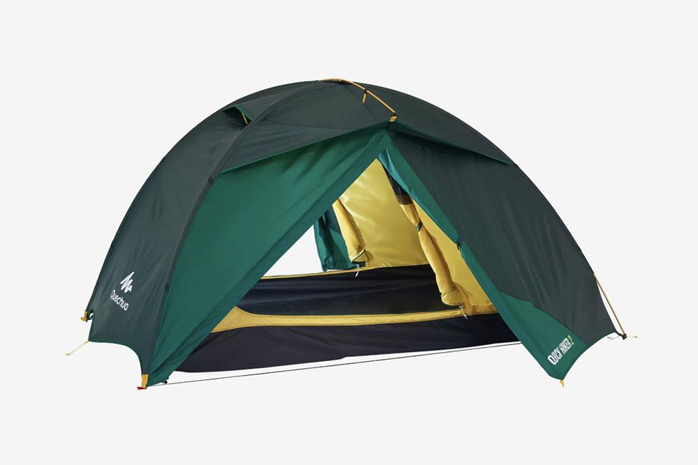 Подходящая палатка для&nbsp;кемпинга в Турции. Стоит&nbsp;5000<span class=ruble>Р</span> в Декатлоне. Фото: Декатлон