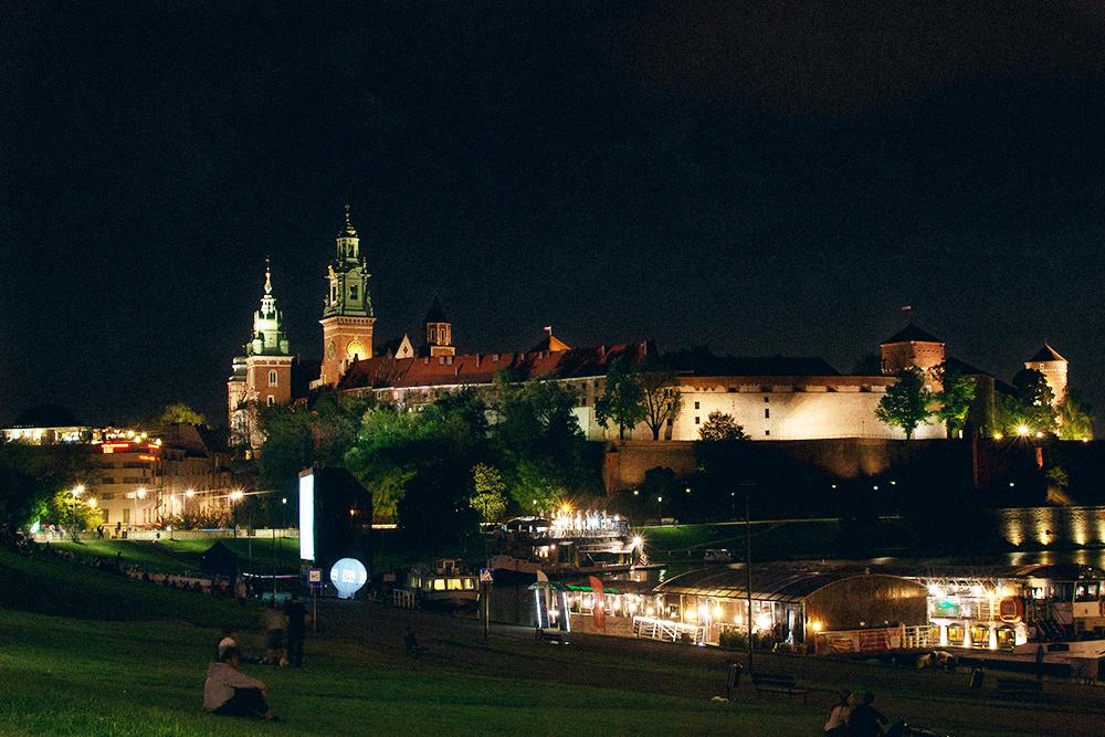Вавельский замок в Кракове — это как Кремль для России