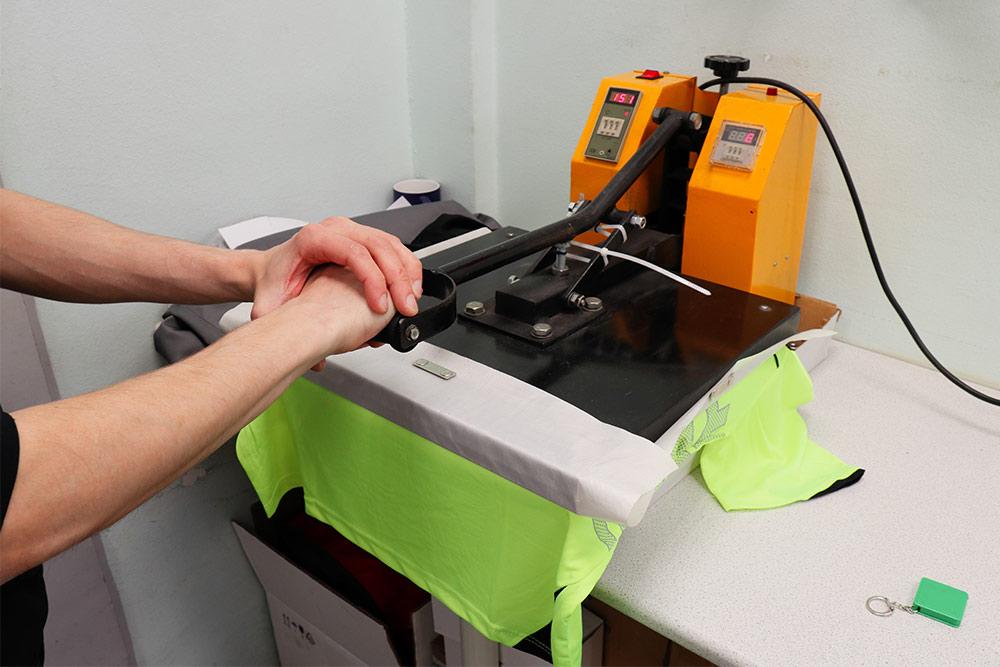 Второй термопресс пригодится, если придет много заказов на печать на футболках или первый выйдет из строя