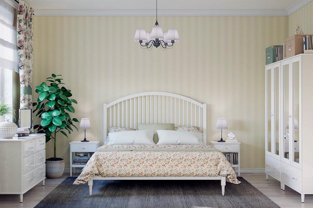 Прованс: пастельные тона, белая мебель, фигурные детали интерьера. Это самый романтичный стиль