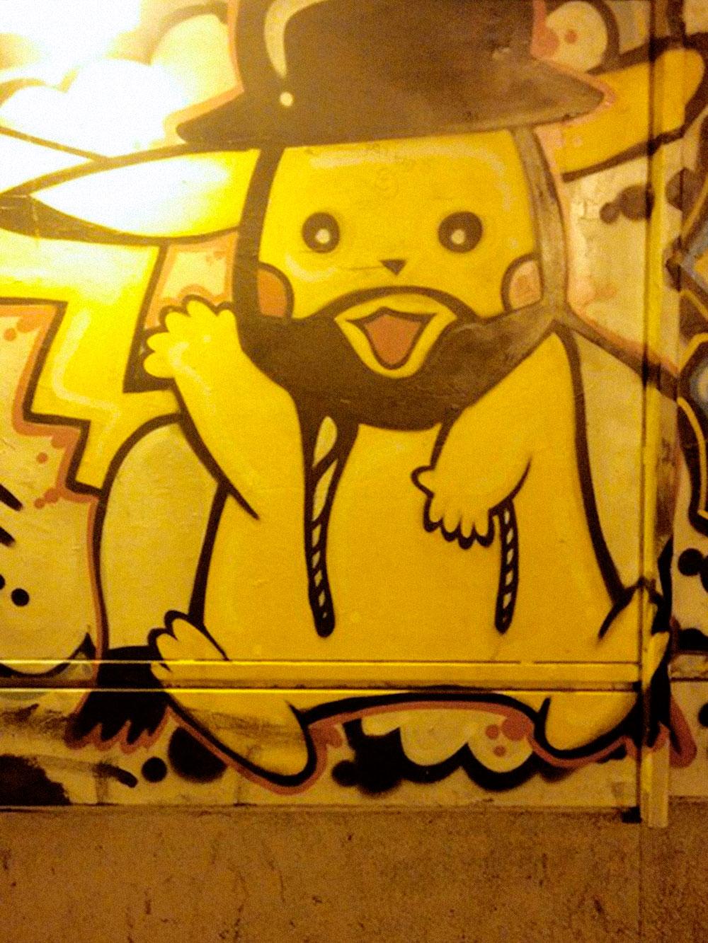 Граффити в Хайфе. Дух Израиля в одной картинке