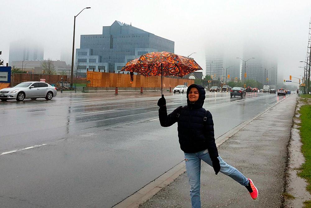 Май в Онтарио: дождь, туман, +15 °C