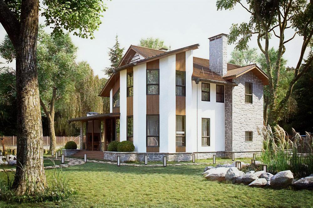Проект дома на 900 м²