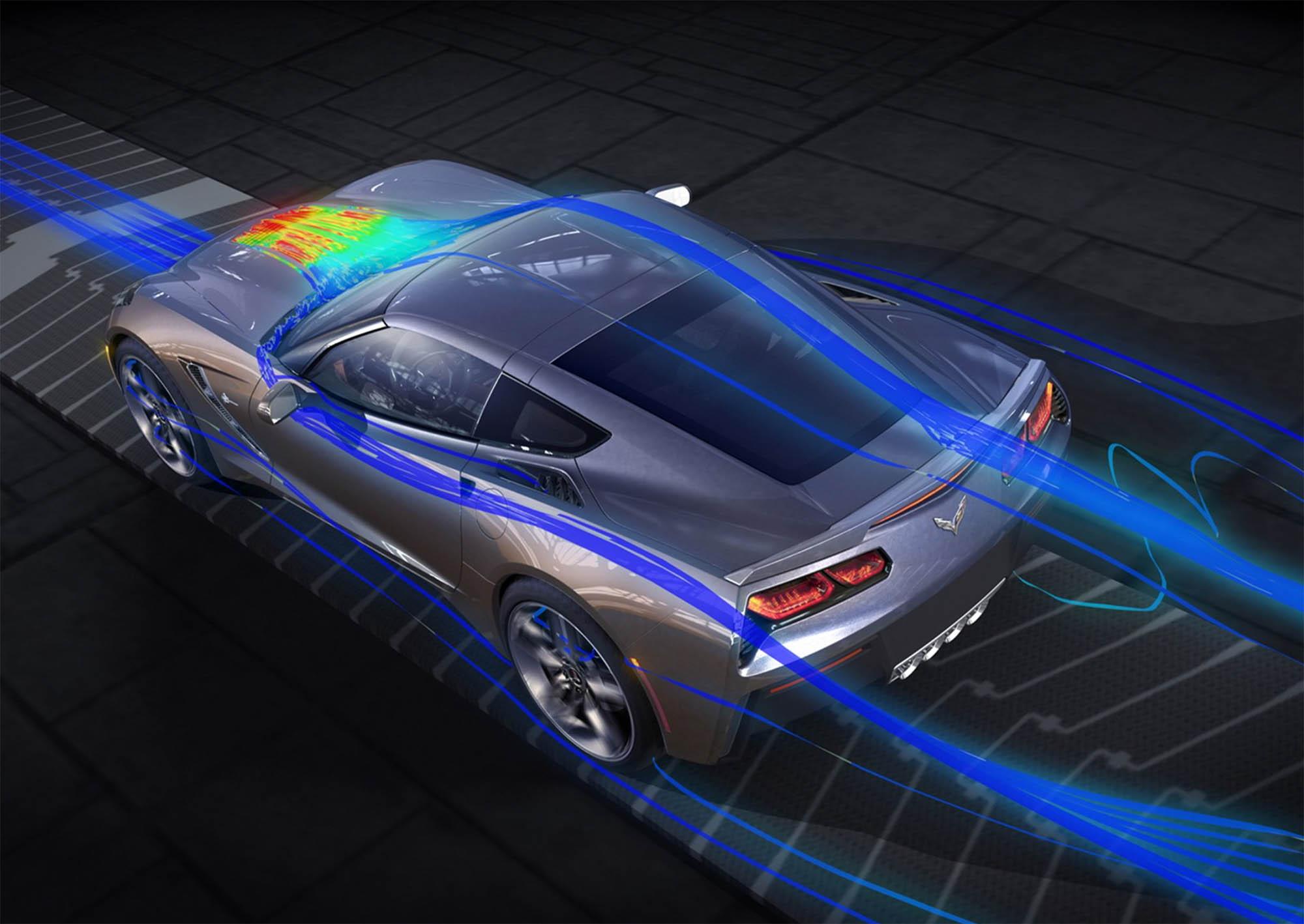 Так воздух обтекает кузов автомобиля. Чем более плавные линии кузова, тем ниже сопротивление воздуха и тем меньше топлива потратит двигатель. Источник: dieselstation.com