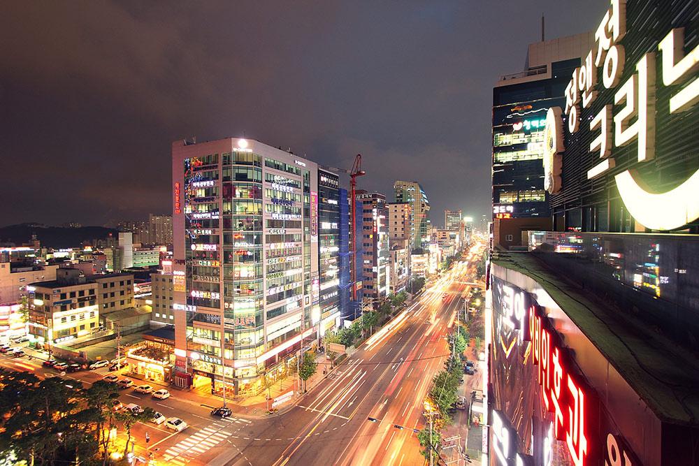 Город Ульсан в Южной Корее выглядит так. Фото: v15ben, Flickr
