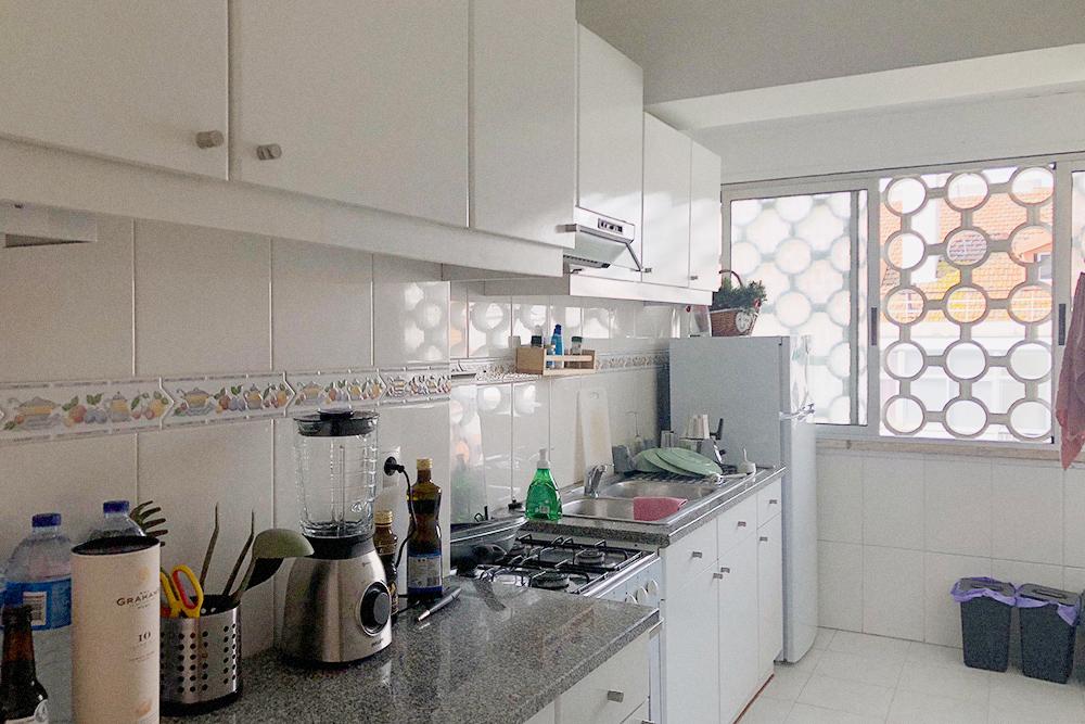 Многие квартиры в Лиссабоне сдаются безмебели, но в нашей мебель и кухонная техника уже были
