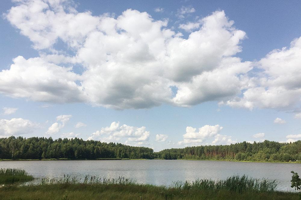 Озеро Старое с бесплатным пляжем и парковкой