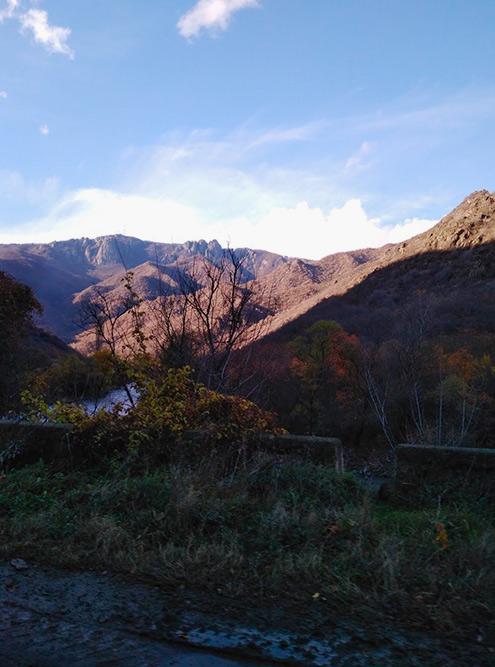 Виды в горах Армении отличаются от грузинских