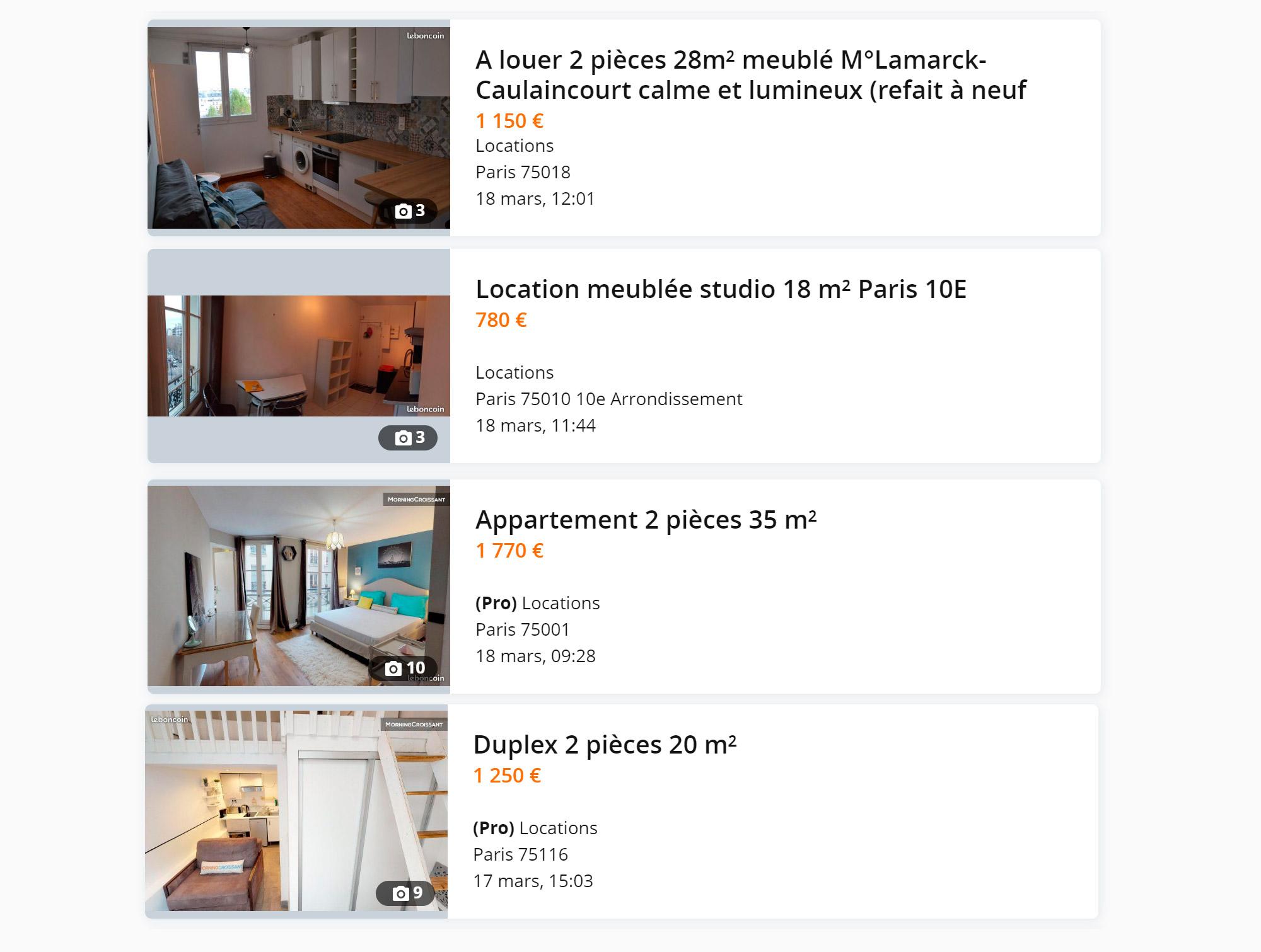 25—35 м² — это обычный размер для двухкомнатных квартир в центре Парижа