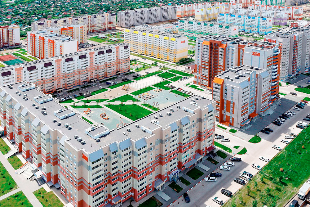 Новый квартал «Лазурный-2», застройщик — «Жилищная инициатива». Фото: ЖК«Лазурный»