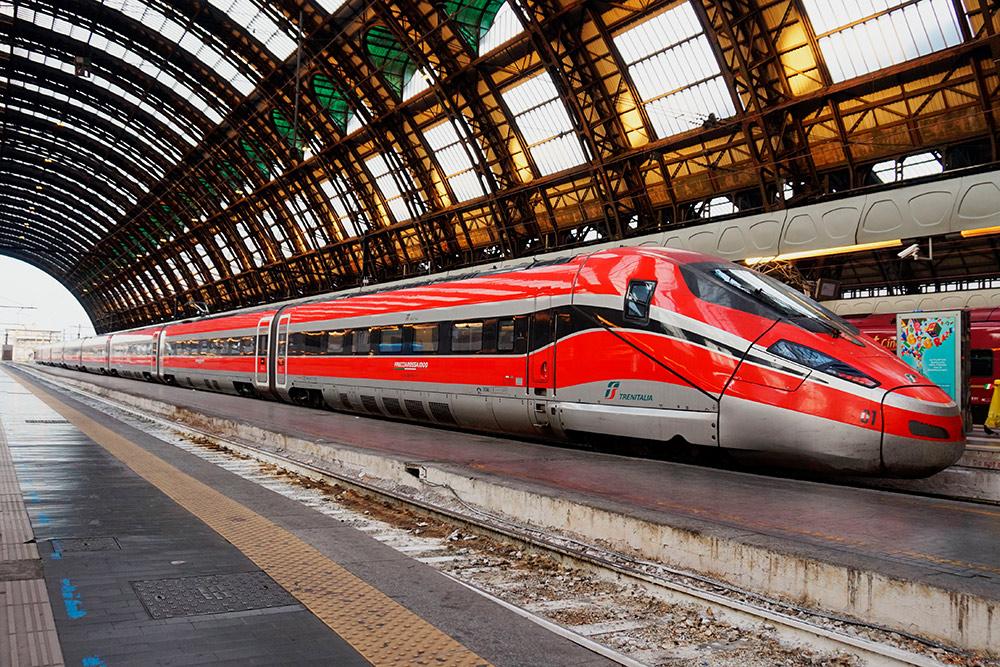 Нам понравились поезда «Итало», они быстрые и комфортабельные. Фото: Shutterstock