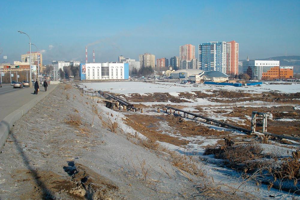 Индустриальные виды нашего города. Это панорама новых жилых кварталов в центре города