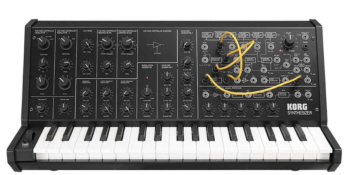 Довольно толковый одноголосый синтезатор Korg MS-20 был популярен в рейв-культуре начала девяностых. Недавно этот синтезатор переиздали в уменьшенном формате