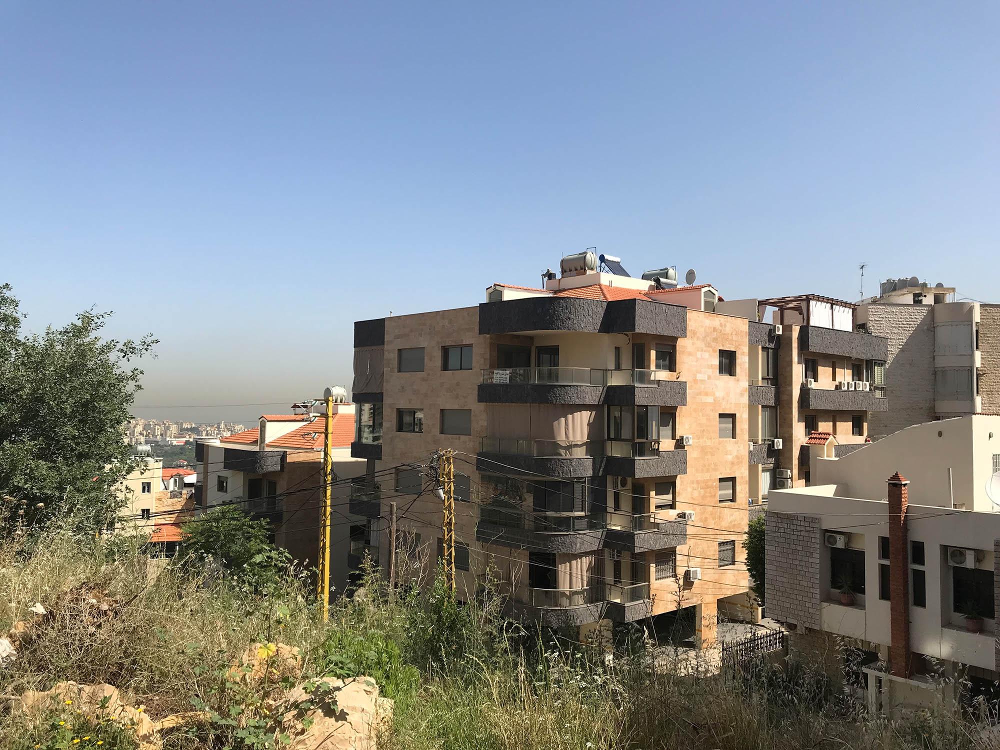 Наш дом в зоне Мэтн. Отсюда до Бейрута на машине 15 минут езды