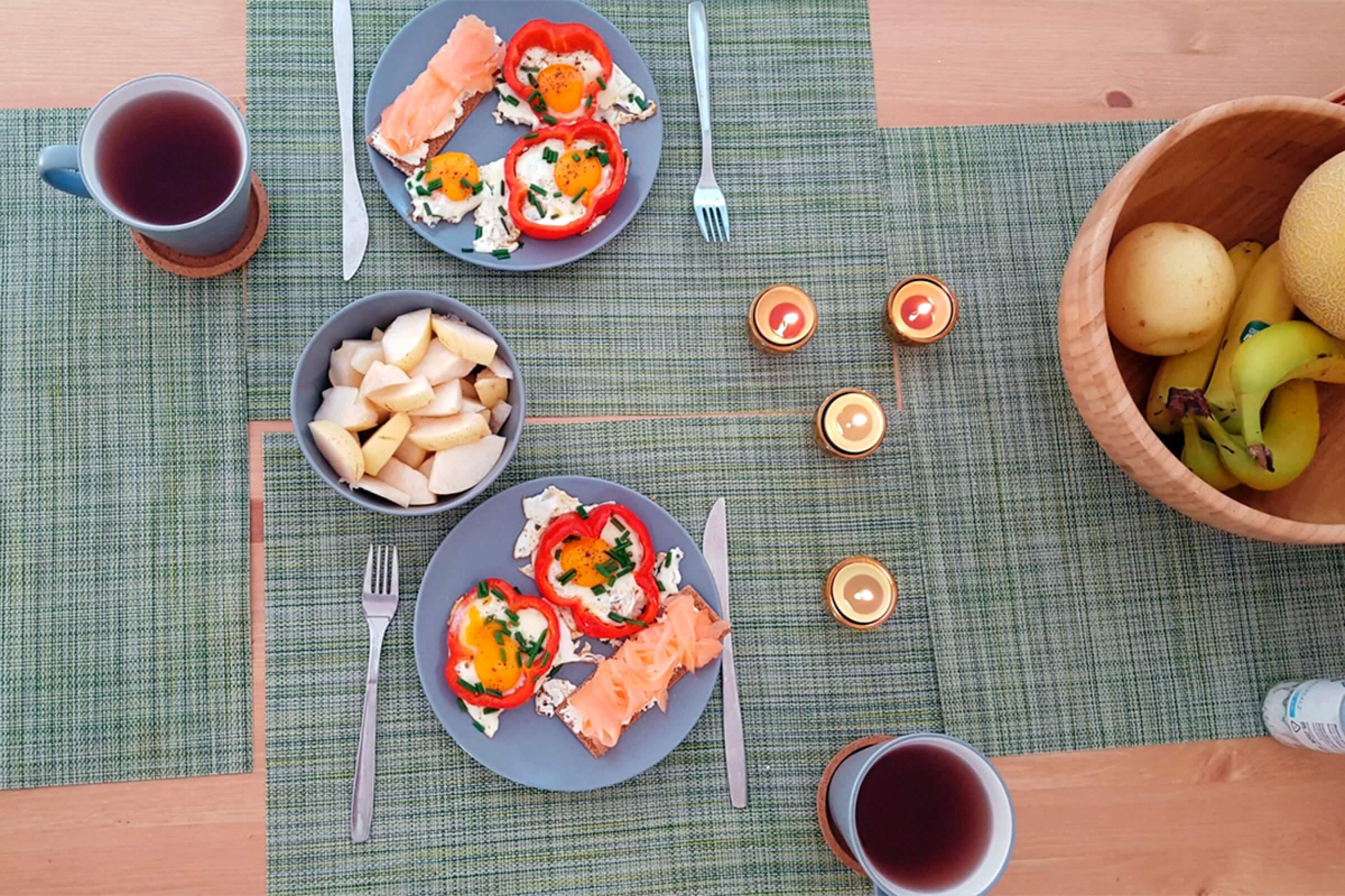 Наш домашний завтрак