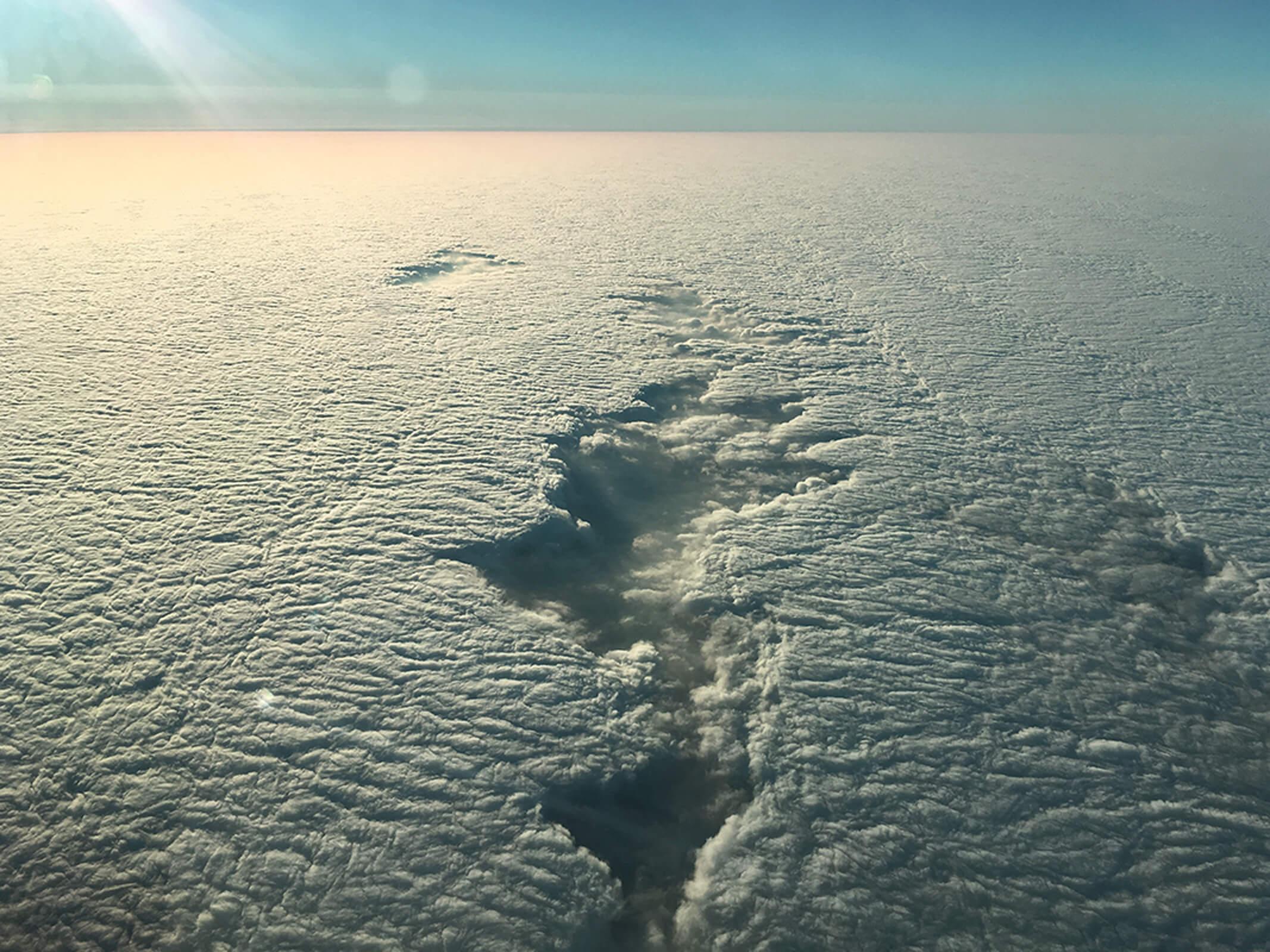 Стандартные пейзажи, которые видит пилот каждый день
