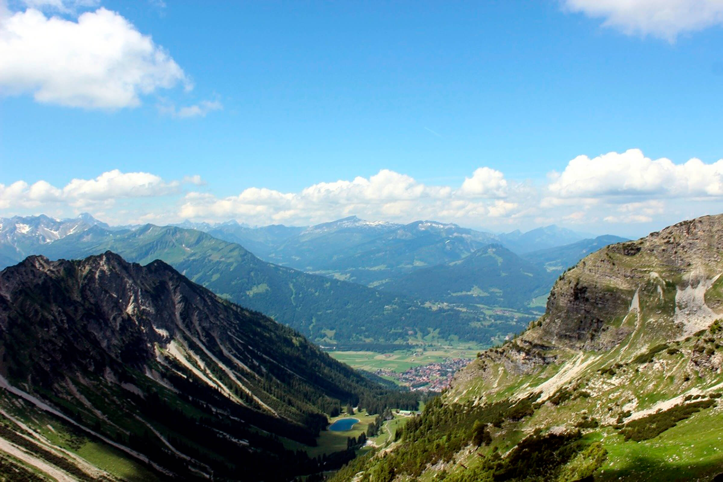 Наш летний хайкинг в Альпах