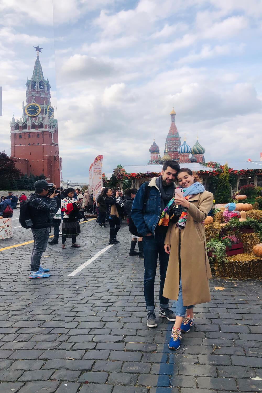 Переехали в Москву