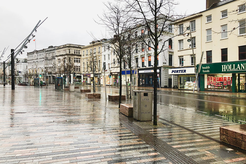 Типичный дождливый день в Корке