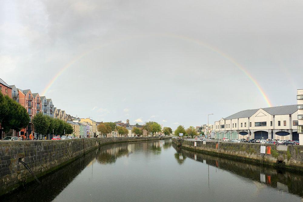 Дождь в Ирландии — явление перманентное. Зато какие тут радуги!