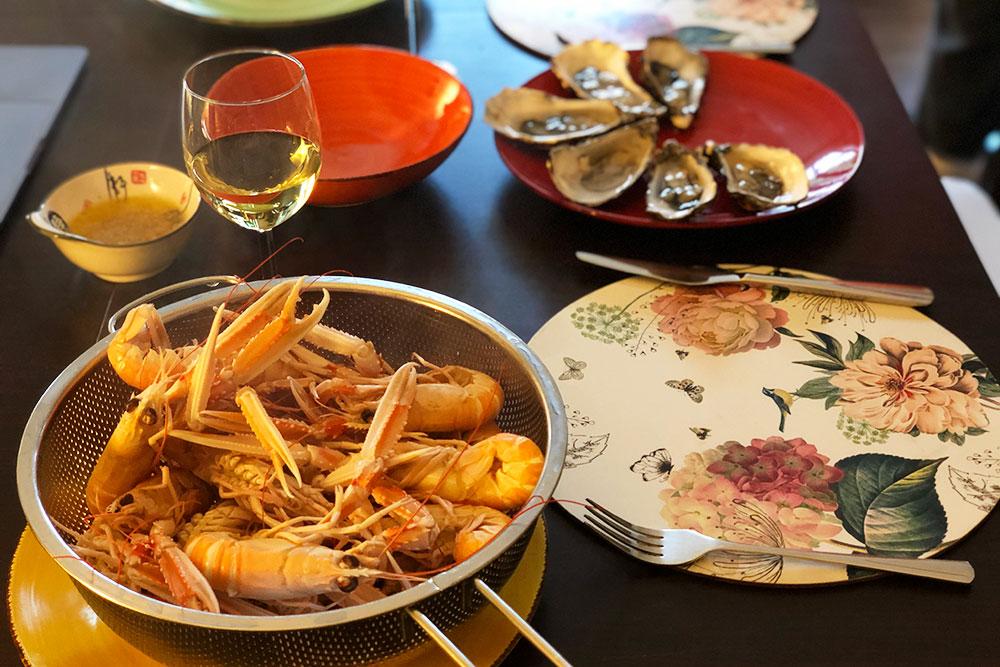 Лангустины — это такие маленькие омары. Ирландцы называют их местными креветками. Стоят они 18€ за кг