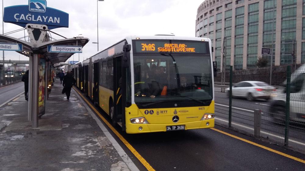 На метробюсе можно быстро и без пробок добраться в отдаленные районы