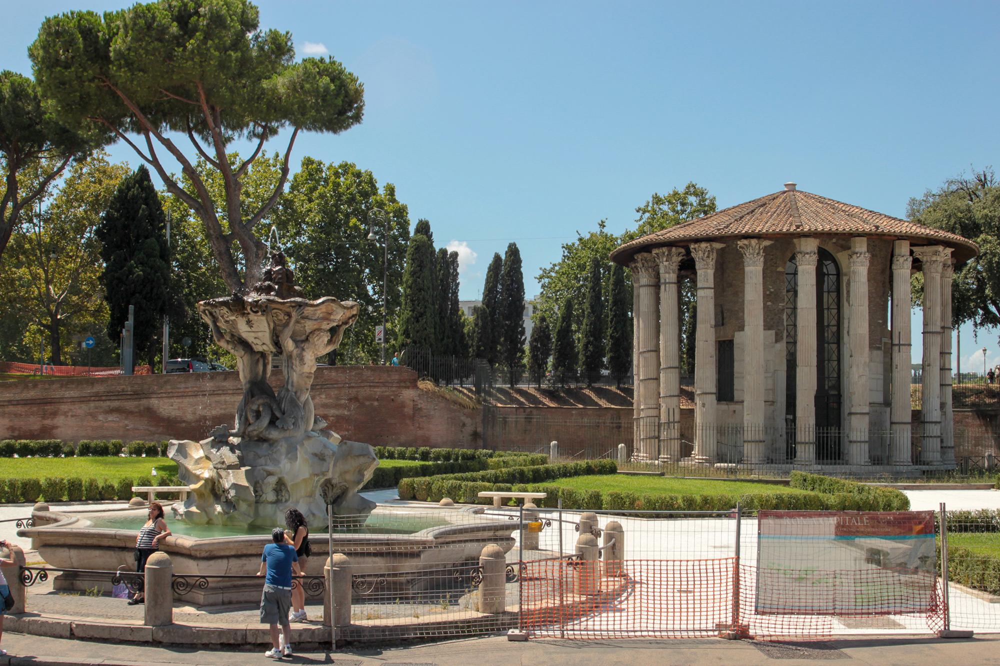 Рим — это город-музей. Достопримечательности на каждом шагу