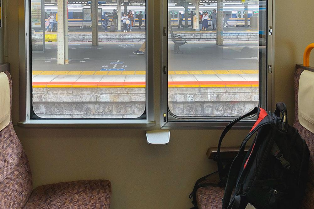 В электричке из Киото в Нару