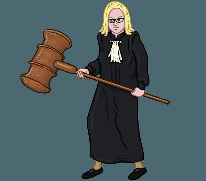 Профессия: судья
