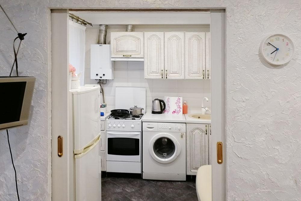 В квартире было все необходимое, а главное — кухня. Поэтому мы смогли немного сэкономить и хотябы завтракать дома