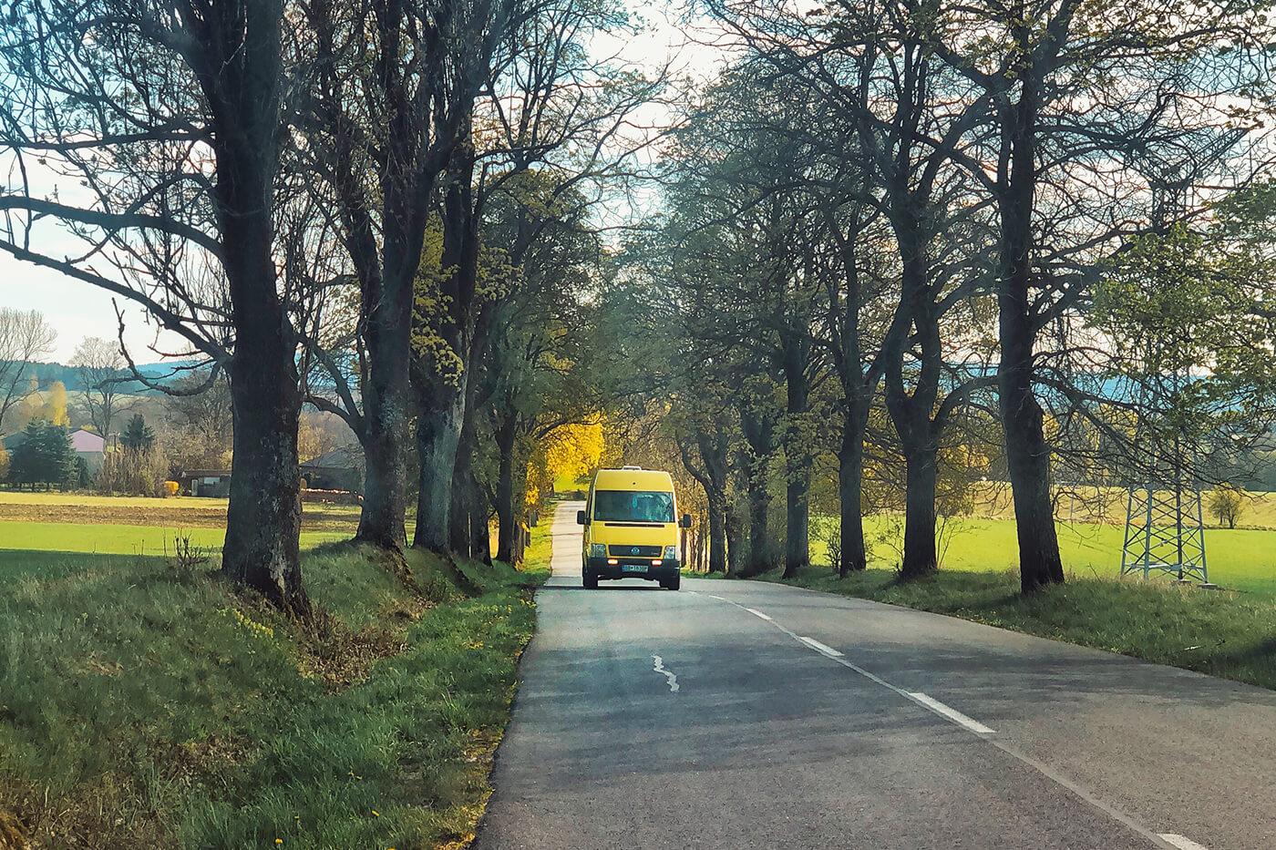 От нашего последнего места стоянки до Братиславы — около 300 км пути