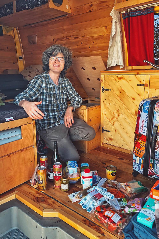 С поиском продуктов не было проблем: магазины в Словакии работали даже в небольших деревнях