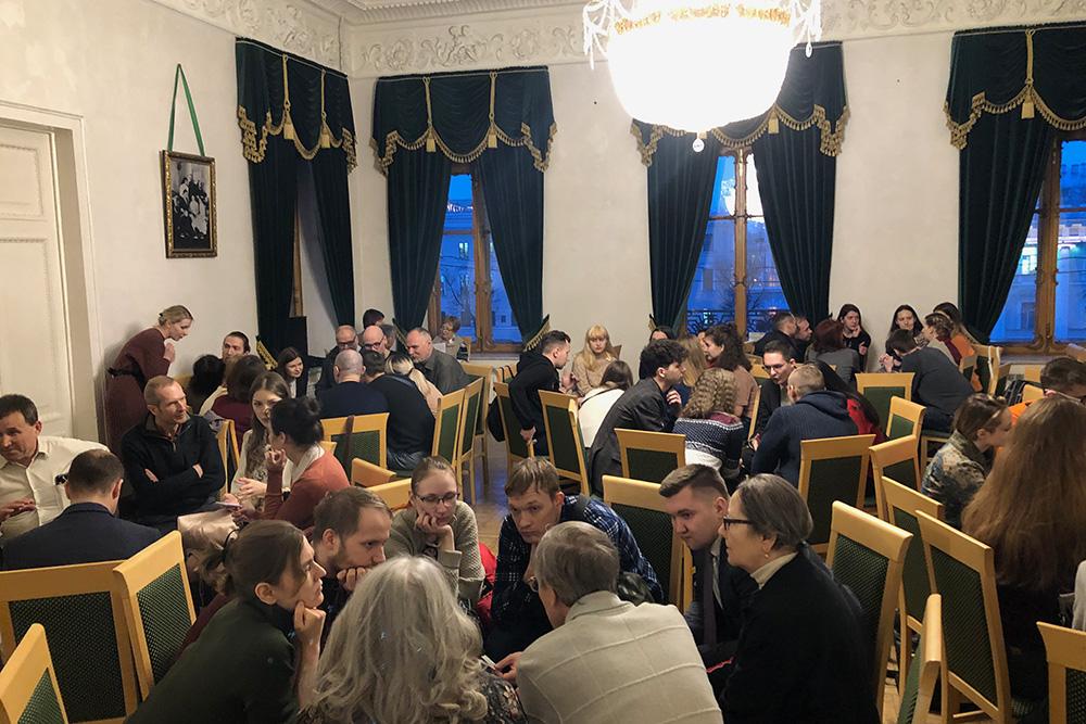 Английский разговорный клуб в библиотеке