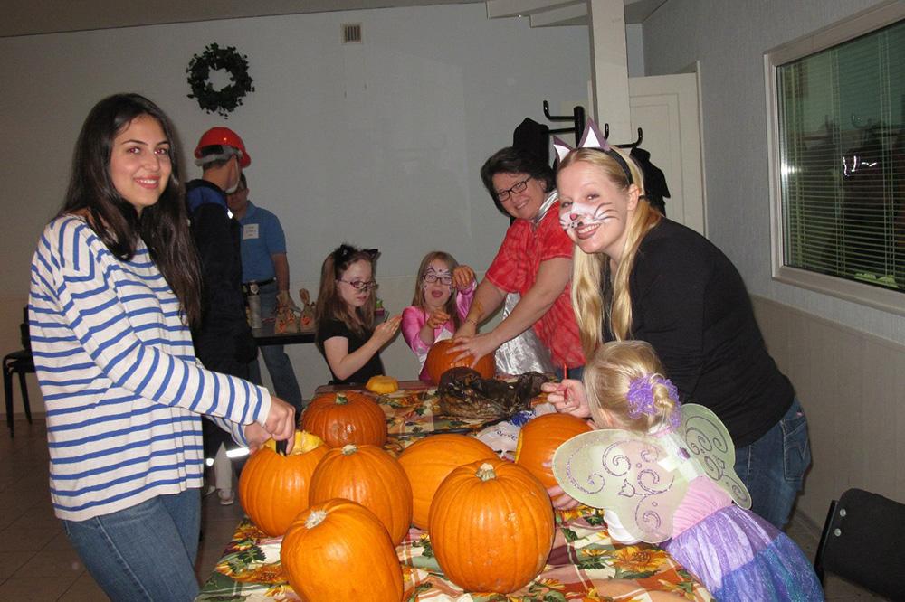 Вечеринка в честь Хеллоуина