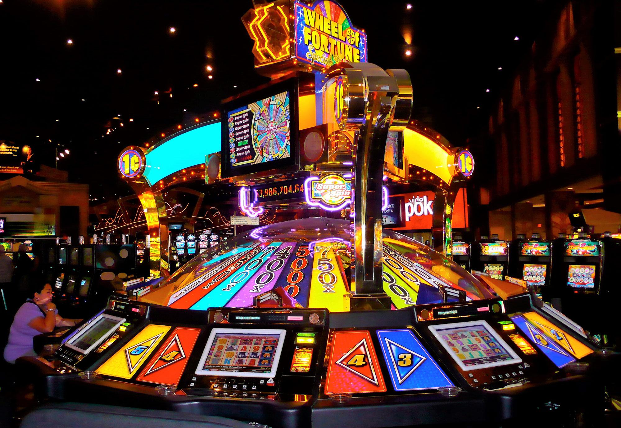 Система игровых автоматов с прогрессивным джекпотом. Автор фото LetNoun, flickr.com