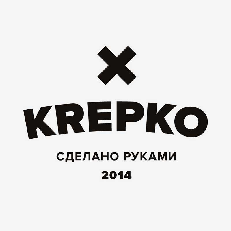 Название «KREPKO» легко запоминается, выделяется среди прочих англоязычных названий и ассоциируется с надежностью ручной работы