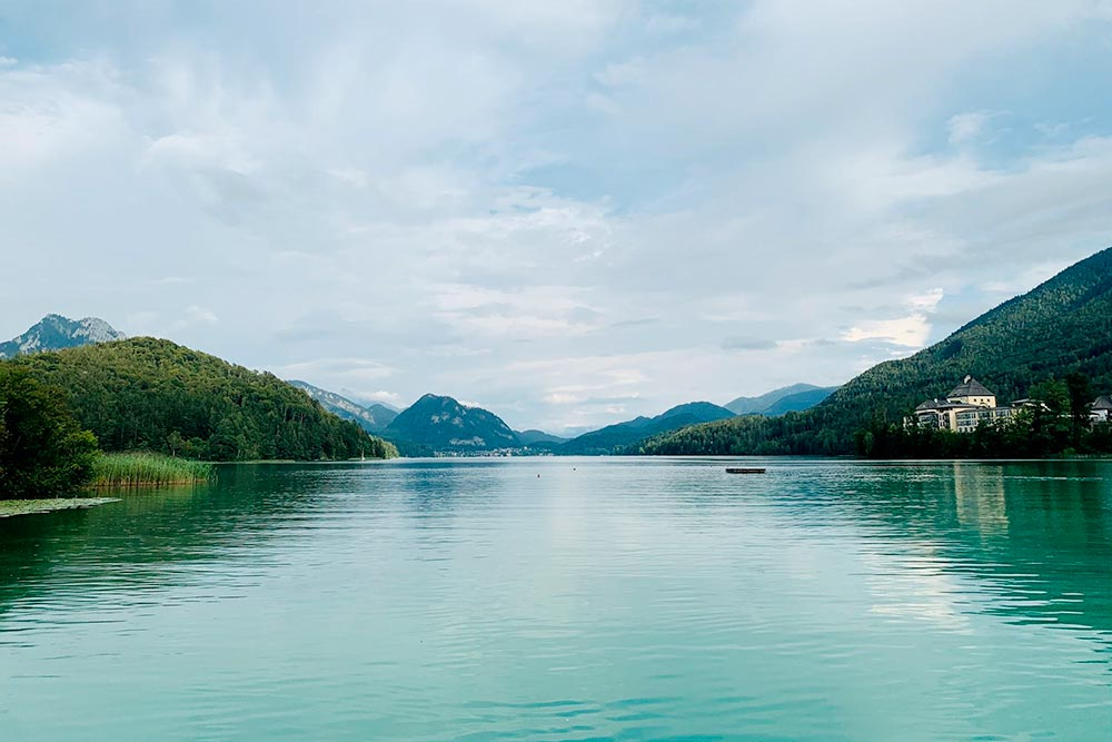Озеро Фушльзе недалеко отЗальцбурга