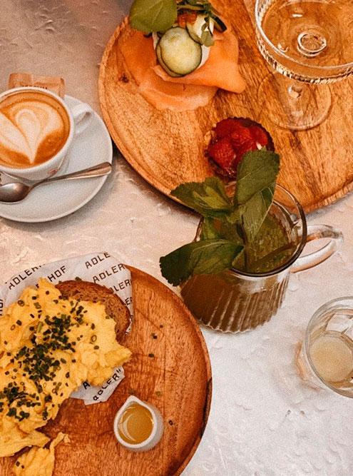 В Вене очень много кафе длякрасивых «инстаграмных» завтраков