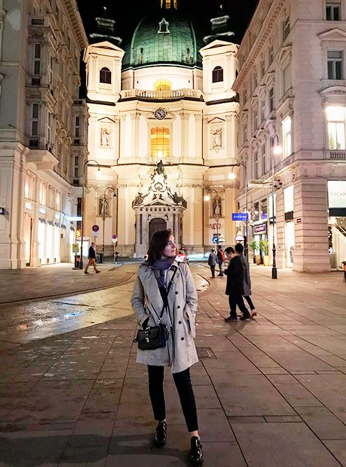 Моя любимая церковь, скоторой началась моялюбовь кВене — церковь святого Петра. Вней проходят нереальные органные концерты