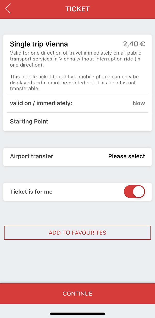 Таквыглядит процесс покупки билета наодну поездку вприложении