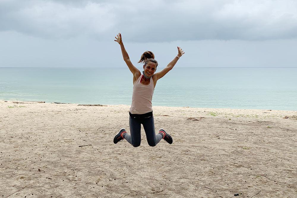 Пляж Лаян, в 6 км от нашего дома