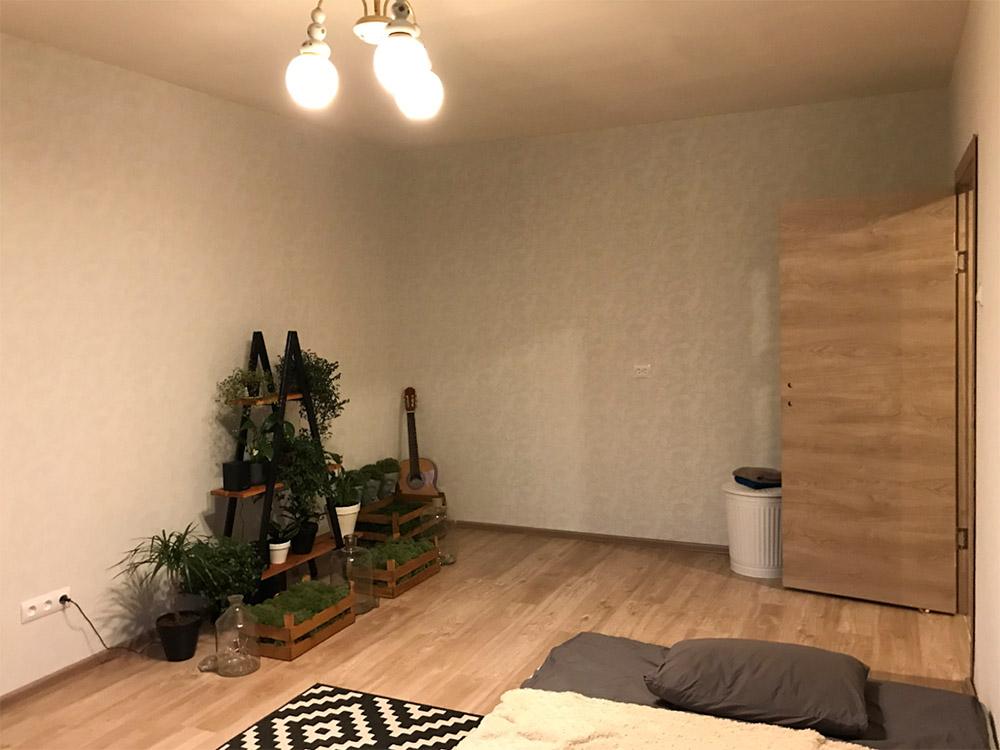 Так выглядела моя комната до ремонта