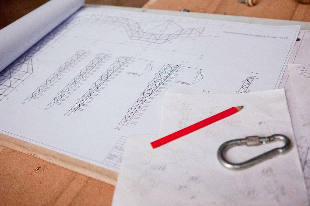 На разработку проекта металлических конструкций ушло полтора месяца и 600 тысяч рублей. Ещедва месяца и 4,5 миллиона рублей — на изготовление. Фото: Екатерина Корчемна