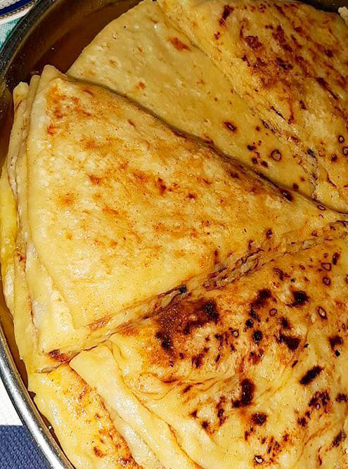 Главные блюда дагестанской кухни — лепешки чуду